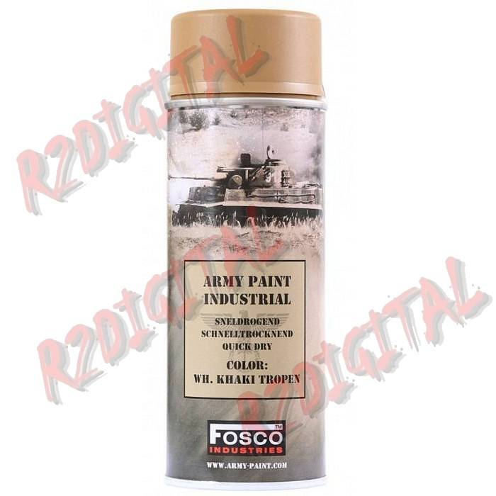 VERNICE ARMI FOSCO SPRAY WH.KHAKI TROPEN 400ML PISTOLA